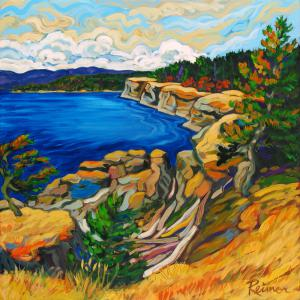 Grassy Cliffs at Helliwell Park – Hornby Island