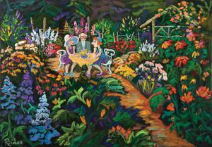 Garden at Hollyhock Farm – Cortes Island   FG – R1