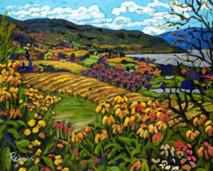 Sunflowers and Vineyards – Okanagan